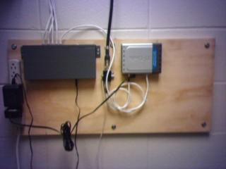 First Wiring Job
