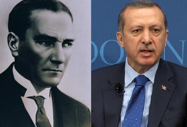 Ататюрк и Эрдоган