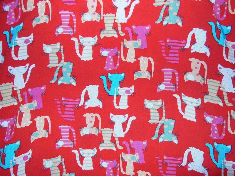 Ткань Котята