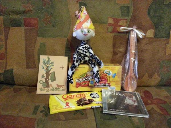 Подарки из Бразилии
