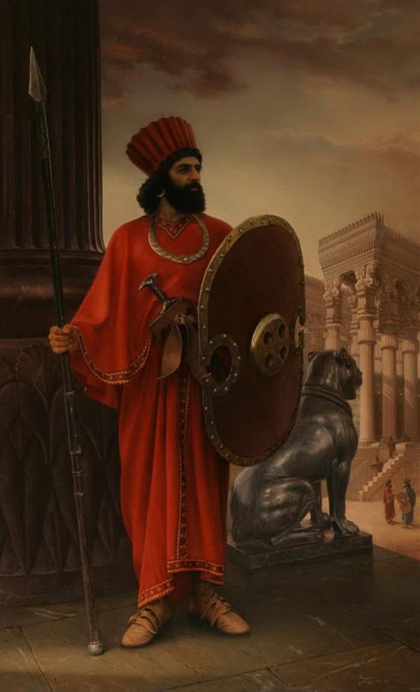 Ахеменидский воин