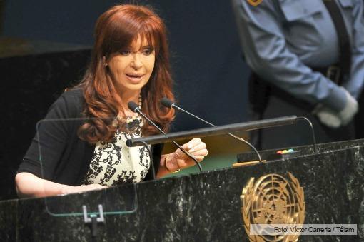 Речь Президента Аргентины Кристины Фернандеc