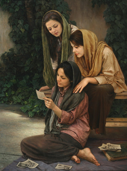 иран, живопись, iran, painting, картина
