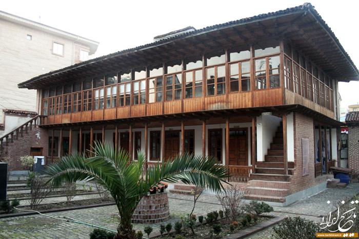 Дом, в котором родился и вырос Мирза Кучек-хан. Сегодня он превращен в музей.
