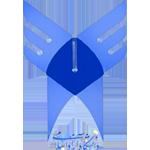 Эмблема Исламского Университета Азад
