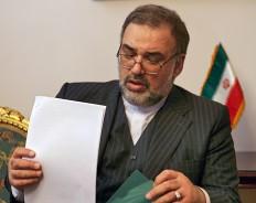 Посол Исламской Республики Иран в России Махмуд Реза Саджади. Фото: Дмитрий Духанин/Коммерсантъ