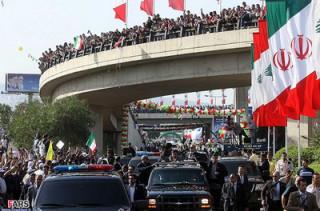 Ахмадинежад в Ливане