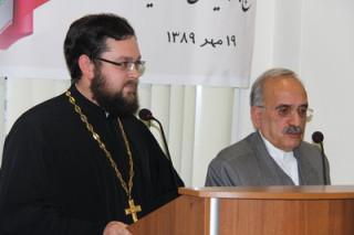 Сергий Звонарев, представитель Русской Православной Церкви