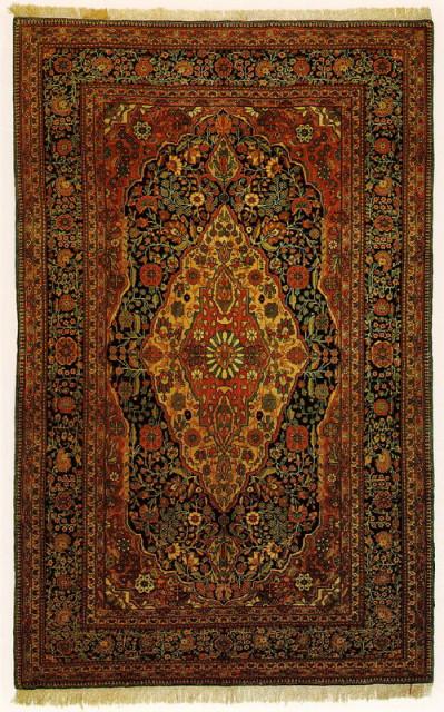 Кашанские ковры знамениты во всем мире