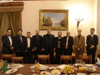 Наша встреча в посольстве с участниками выставки