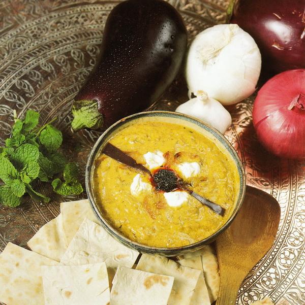 Баклажанный соус (Кашке-Бадемджан)