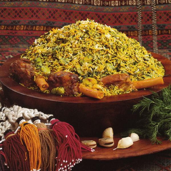 Рис со свежими бобами (Багхала-Полоу)