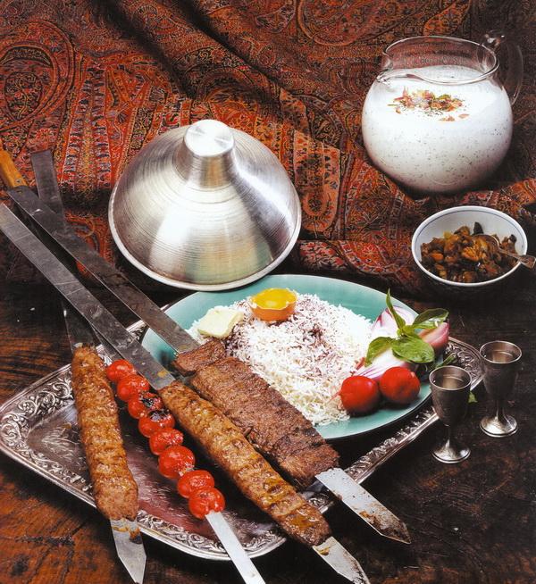 Рис с кебабом (Челоу-Кабаб)