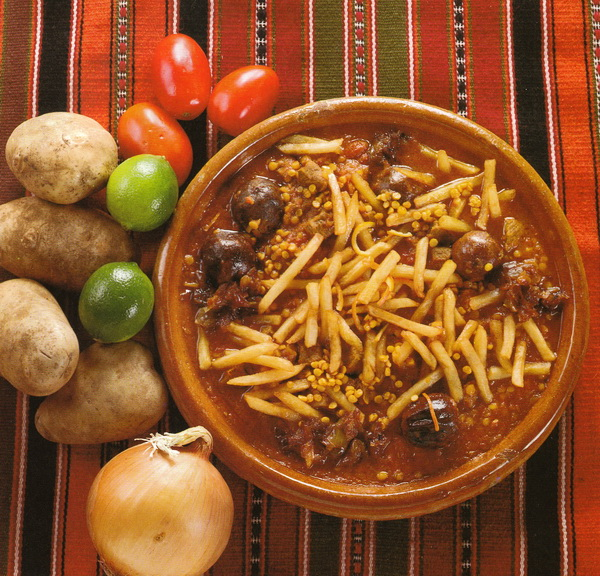 Тушеное мясо с картофелем (Хореше-Гхейме)