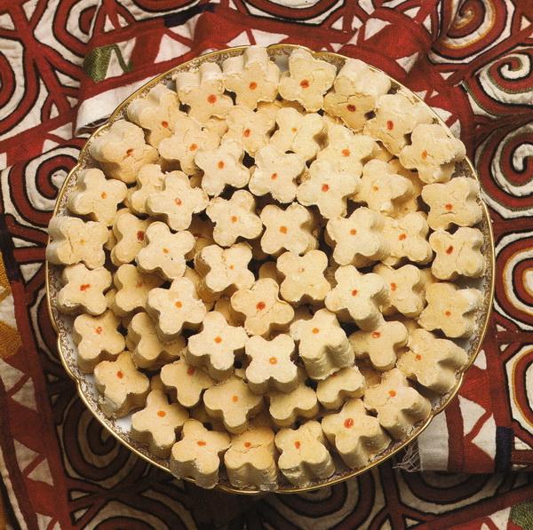 Бисквиты из нута (турецкого гороха)