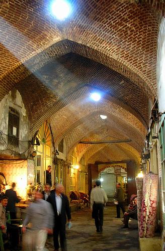 Тебризские базары