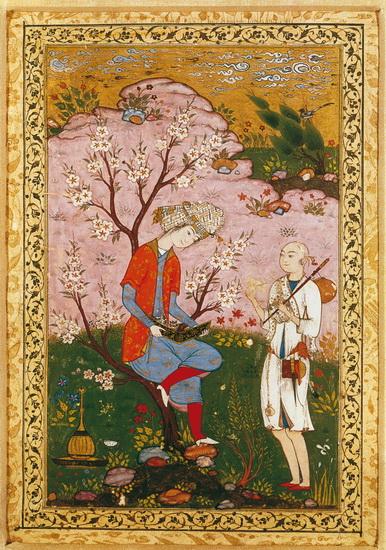 Иран, миниатюра, Персия, Сефевиды, искусство, картина