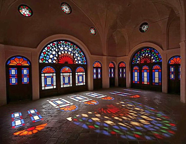 Иран, Персия, Кашан, Табатабаи