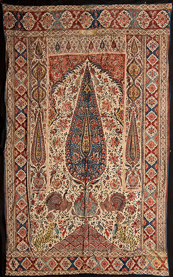 Иран, Персия, искусство, каламкар, каджары, набойка, роспись по ткани