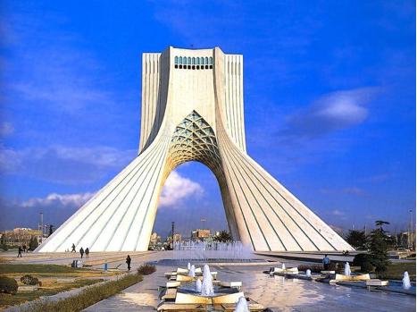 Башня Азади, Тегеран, Иран