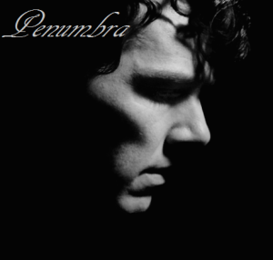 B&W SH profile shadowed Penumbra Series Two graphic a