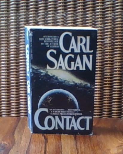 cropped photo of Contact by Carl Sagan 2019