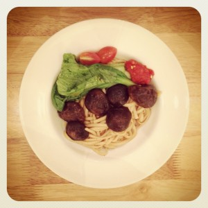Mushroom Noodles - Real Food