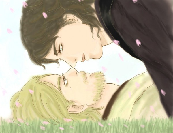 Obi and Ani Under the Sakura Tree.jpg