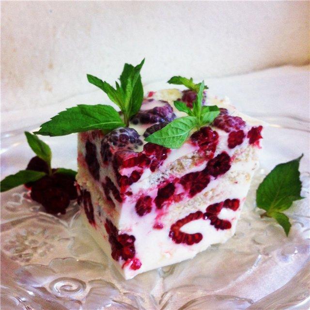 малинкин тортик