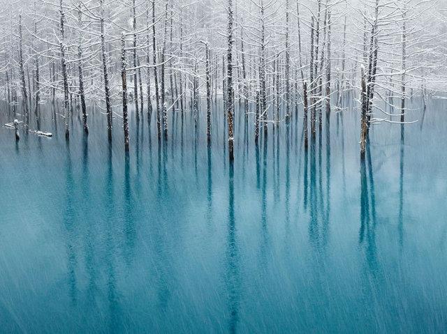 нептун зимняя вода