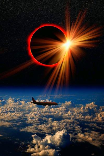 в ауре солнечного затмения