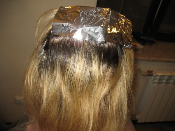сделать мелирование дома на длинные волосы своими руками