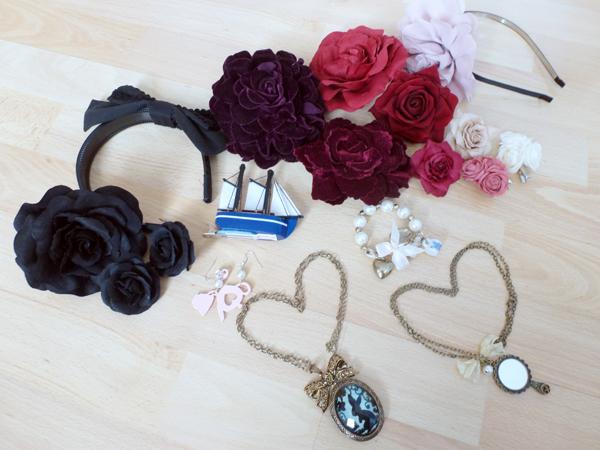 8 accessories