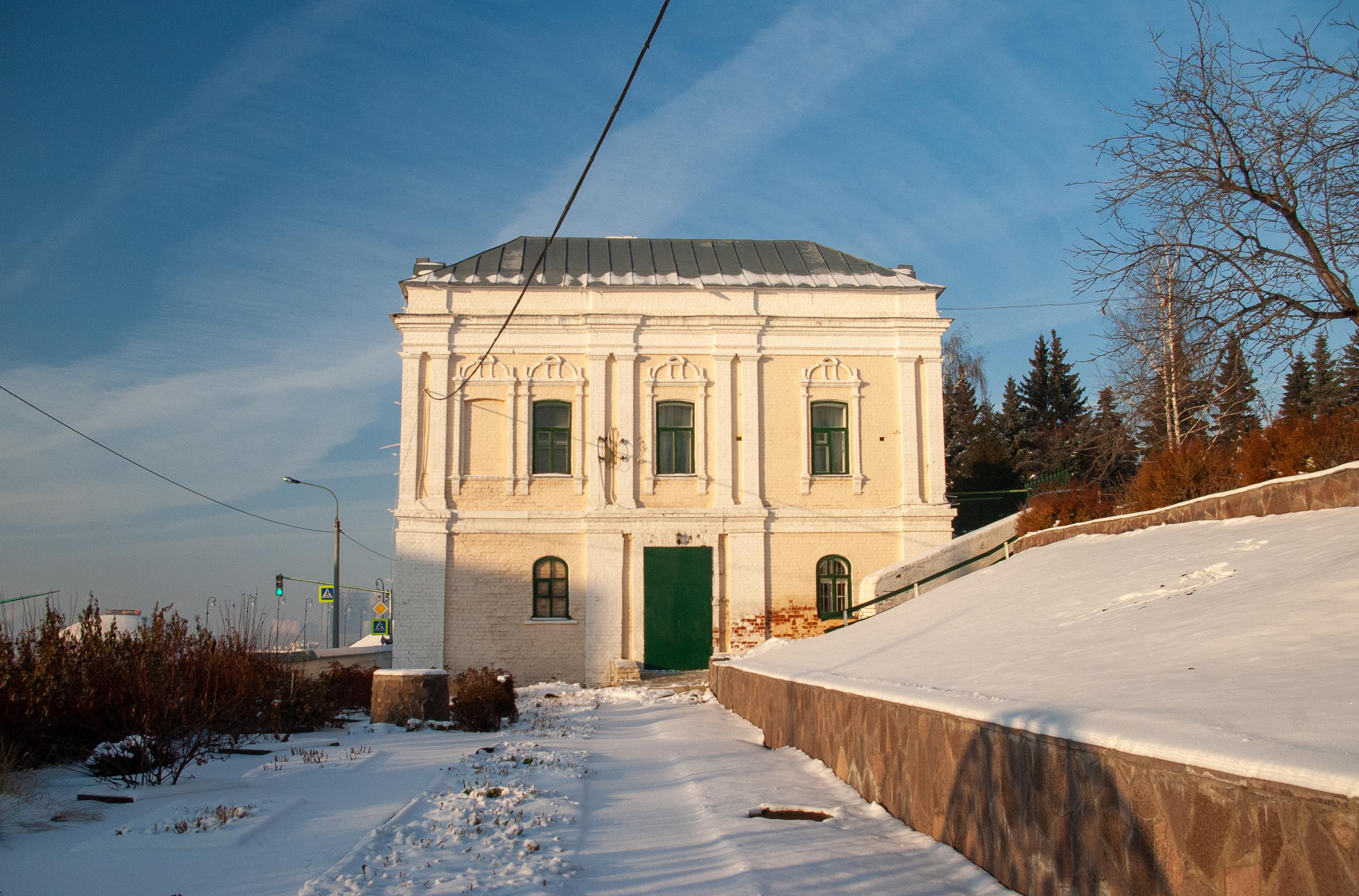 Настоятельский корпус, 1897 г. постройки