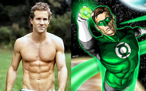 ryan reynolds body pics. Ryan Reynolds Body - green