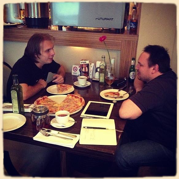 Олег Радул и Роман Самбул