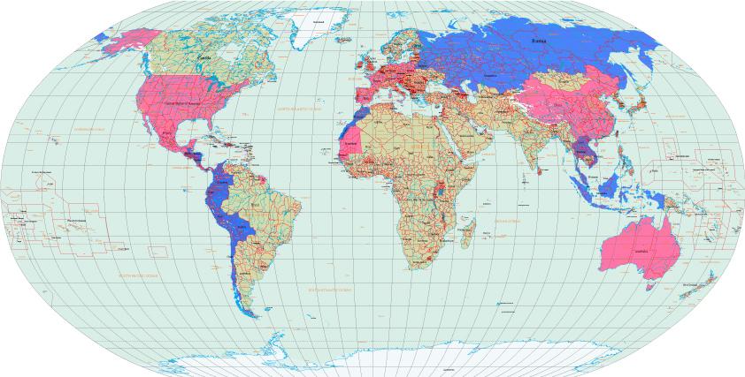 Страны, куда нужны визы