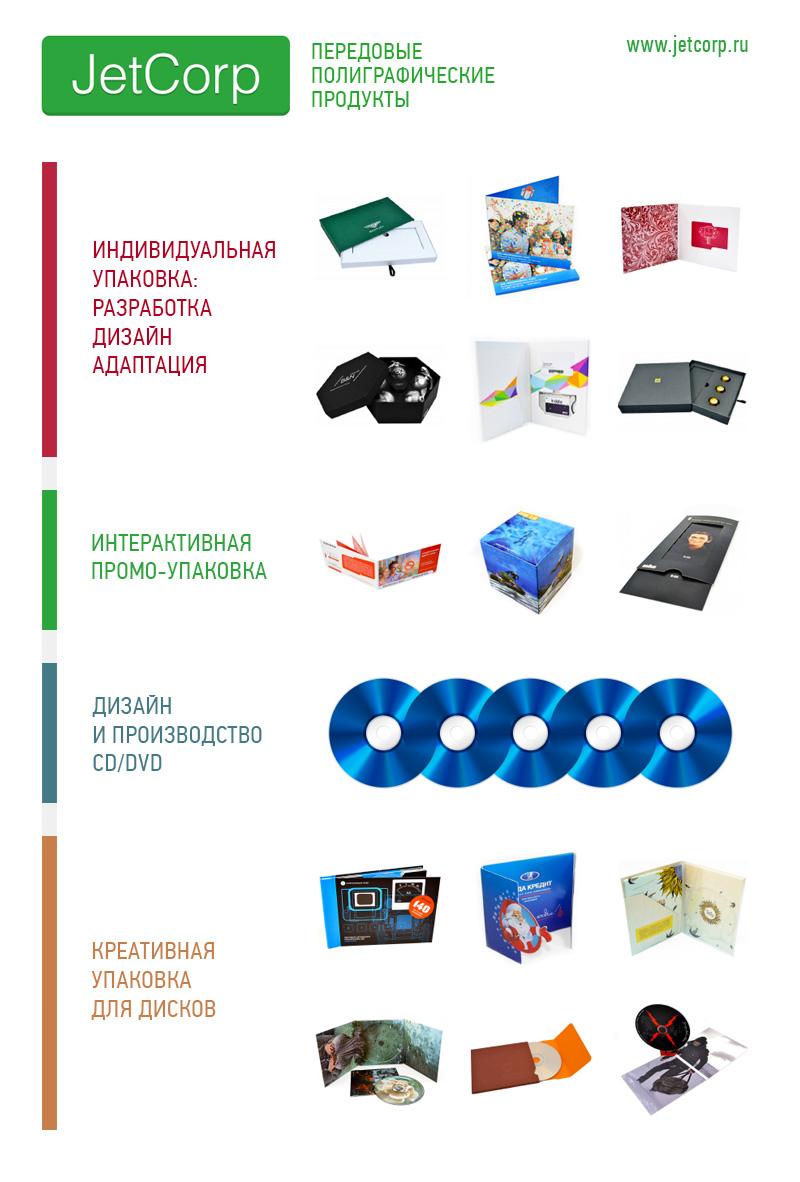JetCorp - передовые полиграфические продукты