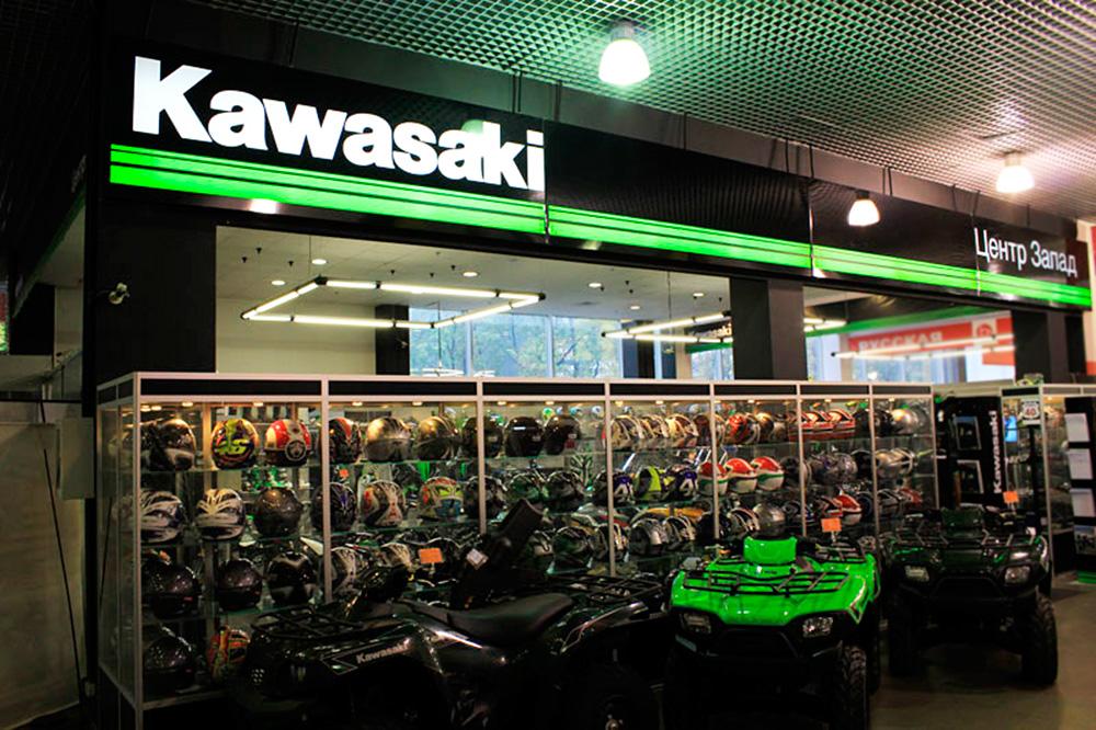 Фудзи Моторс — Официальный дилер Kawasaki и AGV в России