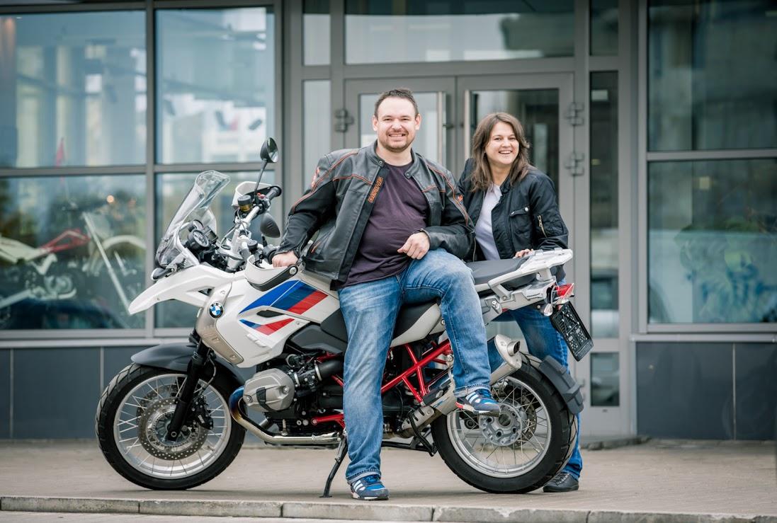 Новый участник нашей мотокругосветки BMW R 1200 GS