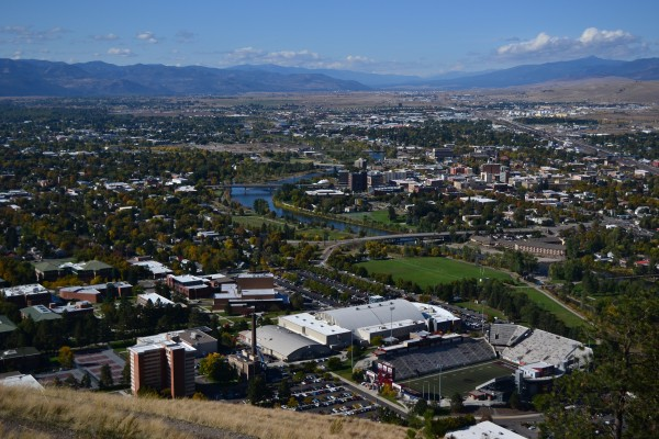Missoula from the M