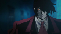 """Alucard looking like something from a shoujo manga from the """"70s = WHAT"""