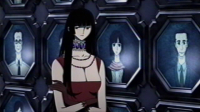 Yuuko is irritated because her breasts are horribly disfigured.