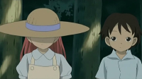 """Young!Grandpa and his little girlfriend...except it""""s actually Daniel and Momo in disguise."""