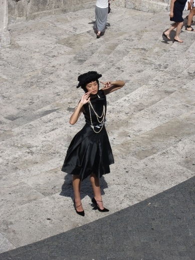 Рим-исплестница-модель