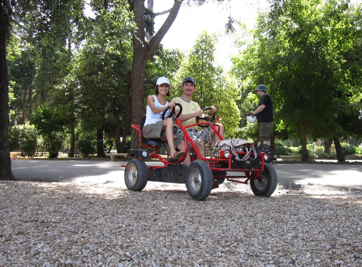 Рим-Боргезе-велосипед
