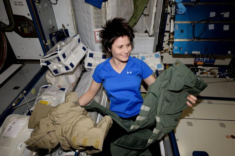 Саманта Кристофоретти в роли ночной совы МКС