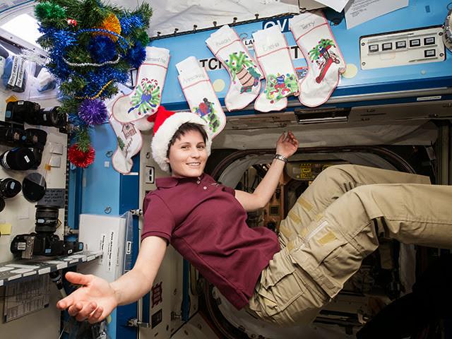 Саманта Кристофоретти: Рождество на МКС