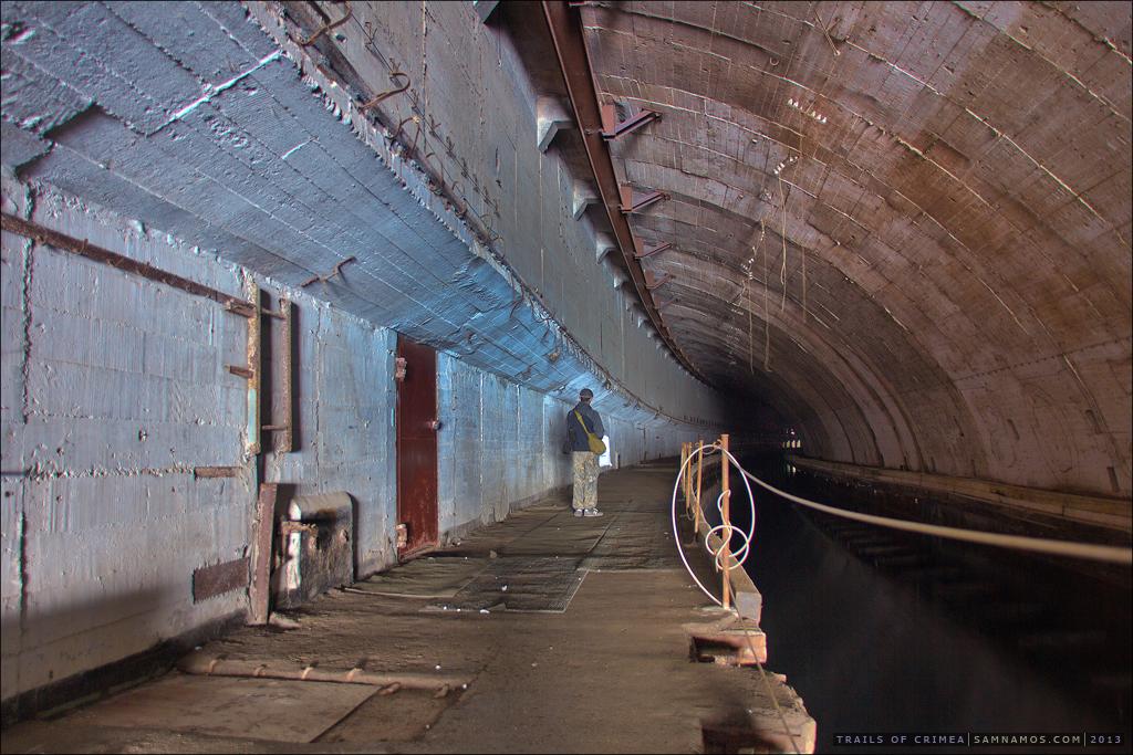 балаклава база подводных лодок фото один