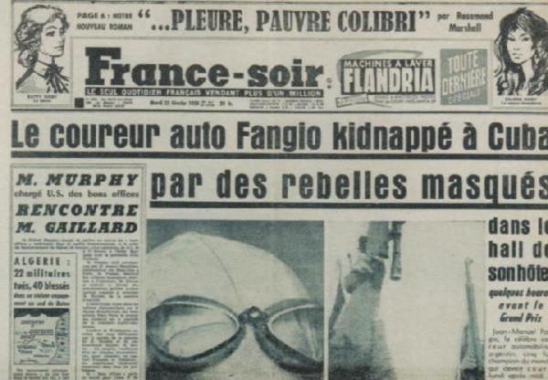 Fangio kidnap